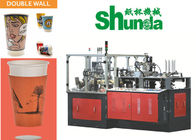 Good Quality Automatic Paper Cup Machine & Ripple Double Wall Disposable Paper Products Machine , Paper Sleeve Making Machine on sale