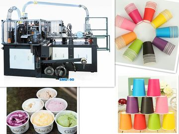 China Automatic Paper Cup Machine,automatical paper coffee cup tea cup ice cream cup making machine 55ml-900ml both hot&cold distributor